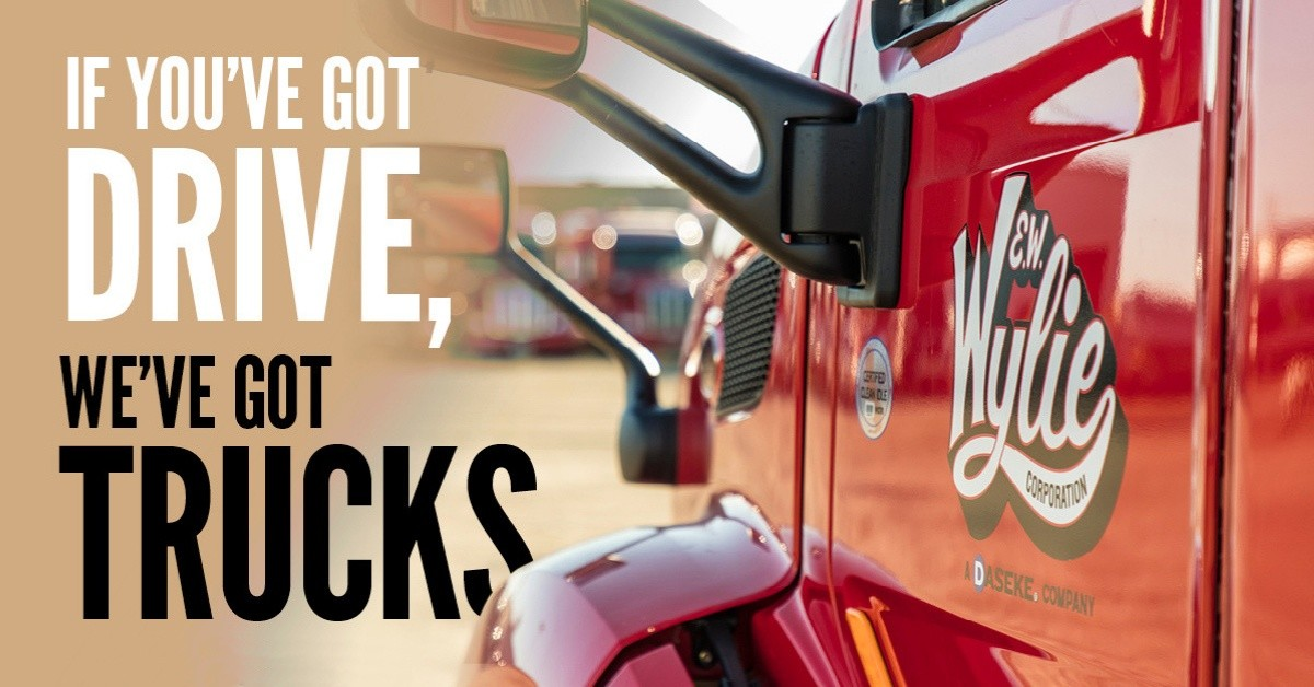 E.W. Wylie is looking for truck drivers.