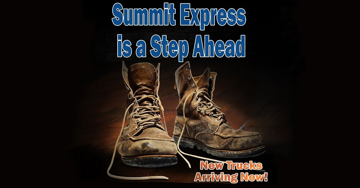 Summit Express is looking for truck drivers.
